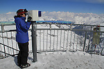 Summit of Valluga Peak, St Anton, Austria, Europe 2014,