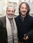 Craig Lucas and Frankie Krainz during The DGF's 14th Biannual Madge Evans & Sidney Kingsley Awards at the Dramatists Guild Fund headquarters on April 4, 2016 in New York City.