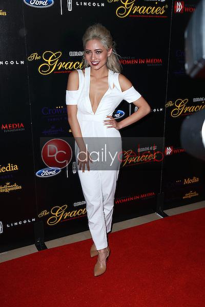 Amy Pham<br /> at the 40th Anniversary Gracies Awards, Beverly Hilton, Beverly Hills, CA 05-19-15<br /> David Edwards/DailyCeleb.com 818-249-4998