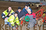 REPAIRS: Jimmy and Michael Donegan (Causeway)carrying out repairs on their plough during the Abbeydorney ploughing competition on Sunday in Abbeydorney, L-r: Front l-r: Jimmy  and Michael Donegan. Back l-r: Daniel O'Connor,Tommy Murphy and Con Donegan(Causeway)........... . ............................... ..........
