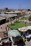 Shopping stalls and marketplace, Tijuana, Baja California, Mexico