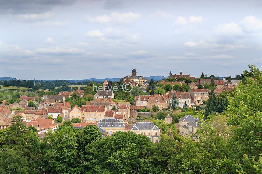 France,  Saône-et-Loire (71), Charolais, Charolles // France, Saone et Loire, Charolles