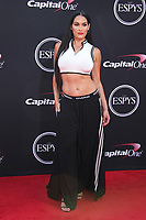 Gabby DouglasLOS ANGELES, CA - JULY 12: Nikki Bella at The 25th ESPYS at the Microsoft Theatre in Los Angeles, California on July 12, 2017. Credit: Faye Sadou/MediaPunch