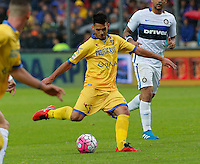 Mirko Gori during the  italian serie a soccer match,between Frosinone and Inter      at  the Matusa   stadium in Frosinone  Italy , April 09, 2016