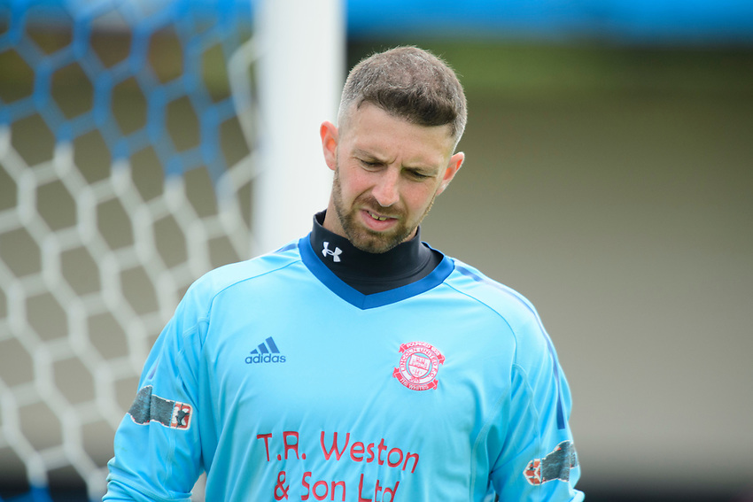 Lincoln United's Mikey Emery<br /> <br /> Photographer Chris Vaughan/CameraSport<br /> <br /> Football Pre-Season Friendly (Community Festival of Lincolnshire) - Lincoln City v Lincoln United - Saturday 6th July 2019 - The Martin & Co Arena - Gainsborough<br /> <br /> World Copyright © 2018 CameraSport. All rights reserved. 43 Linden Ave. Countesthorpe. Leicester. England. LE8 5PG - Tel: +44 (0) 116 277 4147 - admin@camerasport.com - www.camerasport.com