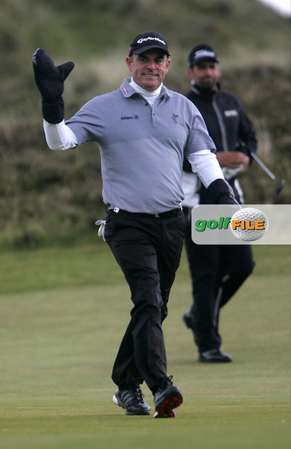 Paul MCGINLEY (IRL) walking up the 9th during round 3 of the 2015 Dubai Duty Free Irish Open hosted by the Rory Foundation, Royal County Down Golf Club, Newcastle Co Down, Northern Ireland. 30/05/2015<br /> Picture TJ Caffrey, www.golffile.ie