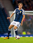 Scotland's Christoph Berra during the World Cup Qualifying Group F match at Hampden Park Stadium, Glasgow. Picture date 4th September 2017. Picture credit should read: Craig Watson/Sportimage