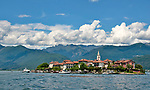 Isola dei Pescatori, also known as Fishermen's Island or Isola Superiore, a small island in Lake Maggiore, Italy across from the town of Stresa