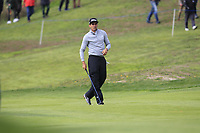 Rafa Cabrera Bello (ESP) on the 1st fairway during Round 1 of the Open de Espana 2018 at Centro Nacional de Golf on Thursday 12th April 2018.<br /> Picture:  Thos Caffrey / www.golffile.ie<br /> <br /> All photo usage must carry mandatory copyright credit (&copy; Golffile | Thos Caffrey)