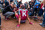 Nils POLITT from Germany of Katusha-Alpecin finishing 7th after the 2018 Paris-Roubaix race, Velodrome Roubaix, France, 8 April 2018, Photo by Thomas van Bracht / PelotonPhotos.com | All photos usage must carry mandatory copyright credit (Peloton Photos | Thomas van Bracht)