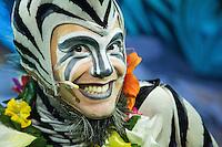 SAO PAULO, SP, 25.09.2013 - MADAGASCAR - Passagem de cena e coletiva de imprensa do espetaculo Madagascar ao Vivo no Ginasio do Ibirapuera na manha desta quarta-feira, 25. (Foto: Vanessa Carvalho / Brazil Photo Press).