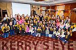 Juvenile Players and mentors at the Abbeydorney Ladies football Awards Ceremony in the Meadowlands Hotel on Sunday evening.