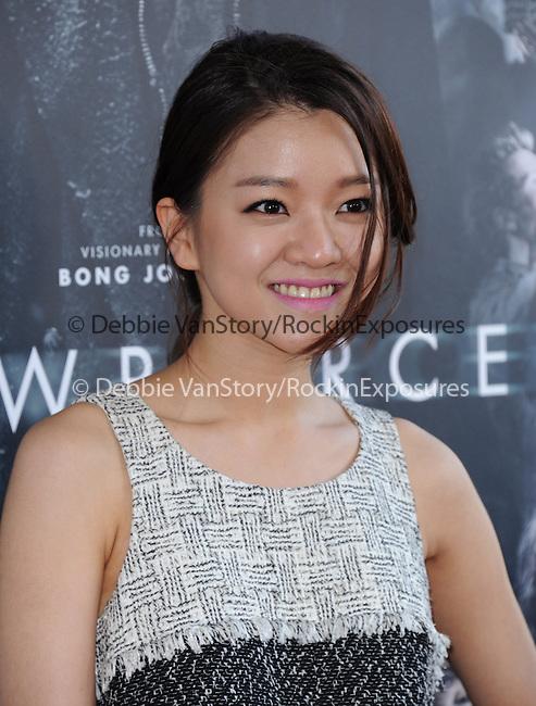 Ko Asung attends The LOS ANGELES FILM FESTIVAL Opening Night Gala: SNOWPIERCER held at Regal Cinemas  in Los Angeles, California on June 11,2014                                                                               © 2014 Hollywood Press Agency