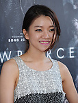 Ko Asung attends The LOS ANGELES FILM FESTIVAL Opening Night Gala: SNOWPIERCER held at Regal Cinemas  in Los Angeles, California on June 11,2014                                                                               © 2014 Hollywood Press Agency