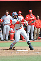 University of Houston Cougers infielder Frankie Ratcliff (7) during game game 1 of a double header against the Rutgers University Scarlet Knights at Bainton Field on April 5, 2014 in Piscataway, New Jersey. Rutgers defeated Houston 7-3.      <br />  (Tomasso DeRosa/ Four Seam Images)