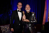 BEVERLY HILLS - JANUARY 6: Peter Rice and Ryan Murphy attend the 2019 Fox Nominee Party for the 76th Annual Golden Globe Awards at the Fox Terrace on the Roof Deck of the Beverly Hilton on January 6, 2019, in Beverly Hills, California. (Photo by Frank Micelotta/Fox/PictureGroup)