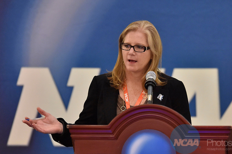 15 JAN 2015: The FCS/Division I Conferences Meeting at the 2015 NCAA Convention held at the Gaylord National Resort and Convention Center in National Harbor, MD. Justin Tafoya/NCAA Photos