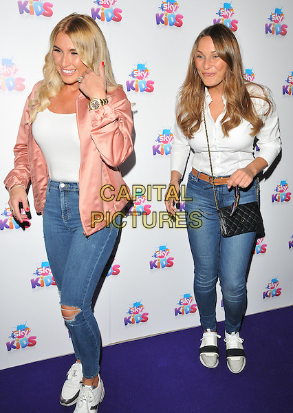 Billie Faiers &amp; Sam Faiers at the Sky Kids Cafe VIP launch party, The Vinyl Factory, Marshall Street, London, England, UK, on Sunday 29 May 2016.<br /> CAP/CAN<br /> &copy;CAN/Capital Pictures