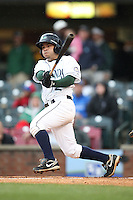 April 20, 2010: Jose Altuve (2) of the Lexington Legends at Applebee's Park in Lexington, KY. The Legends are the Class A affiliate of the Houston Astros. Photo by: Chris Proctor/Four Seam Images
