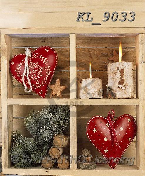 Interlitho-Alberto, CHRISTMAS SYMBOLS, WEIHNACHTEN SYMBOLE, NAVIDAD SÍMBOLOS, photos+++++,decoration items,KL9033,#xx#