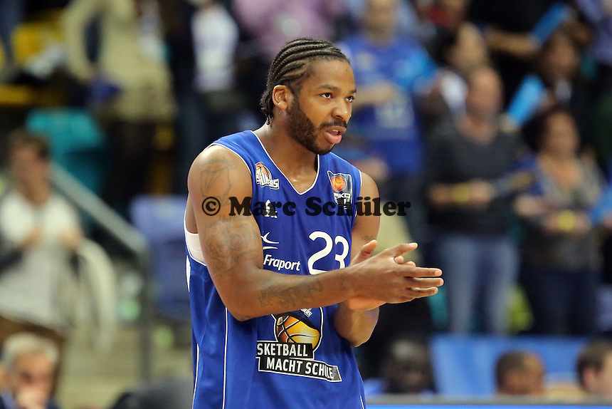 Quantez Robertson (Skyliners) - Fraport Skyliners vs. EWE Baskets Oldenburg, Fraport Arena Frankfurt