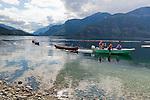 Upper Campbell Lake at Strathcona Park Lodge