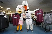 2018 08 24 Third kit launch at the club shop, Liberty Stadium, Swansea, UK