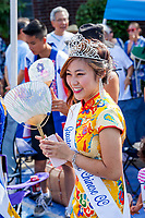 Nella Kwan, Miss Chinese Seattle, Bon Odori Festival 2015, Seattle, Washington, USA.