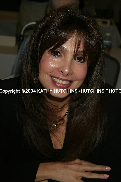 ©2004 KATHY HUTCHINS /HUTCHINS PHOTO.STARS OF THE ZONE CONVENTION (TWILIGHT ZONE).NO HOLLYWOOD, CA.AUGUST 21, 2004..JUDY STRANGIS