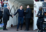 Justin Edinburgh manager of Northampton during the English League One match at Sixfields Stadium Stadium, Northampton. Picture date: April 8th 2017. Pic credit should read: Simon Bellis/Sportimage