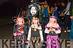 Listowel Halloween Parade: Taking part in the annual Halloween organised by the Listowel KDYS on Saturday evening last were triplets Ashley, Janina & Delia Doyle & Laura Purcell at tback.