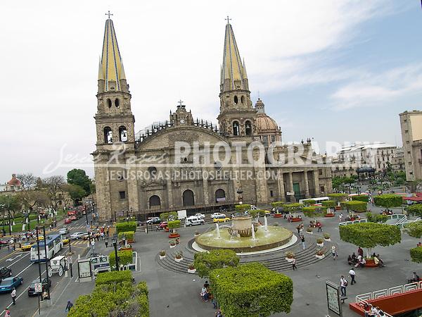 La Catedral Metropolitana in Guadalajara, Mexico.