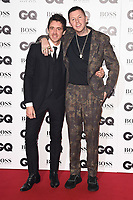 LONDON, UK. September 05, 2018: Miles Kane & Professor Green at the GQ Men of the Year Awards 2018 at the Tate Modern, London
