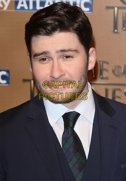 LONDON, ENGLAND - MARCH 18: Daniel Portman arrives for the world premiere of Game of Thrones Season 5 at Tower of London on March 18, 2015 in London, England<br /> CAP/ROS<br /> &copy; Steve Ross/Capital Pictures
