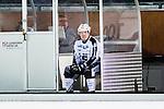 Stockholm 2015-11-18 Bandy Elitserien Hammarby IF - Sandvikens AIK :  <br /> Sandvikens Erik Pettersson i utvisningsb&aring;set efter att ha blivit utvisad i slutet av matchen mellan Hammarby IF och Sandvikens AIK <br /> (Foto: Kenta J&ouml;nsson) Nyckelord:  Elitserien Bandy Zinkensdamms IP Zinkensdamm Zinken Hammarby Bajen HIF Sandviken SAIK utvisning utvisad utvisas