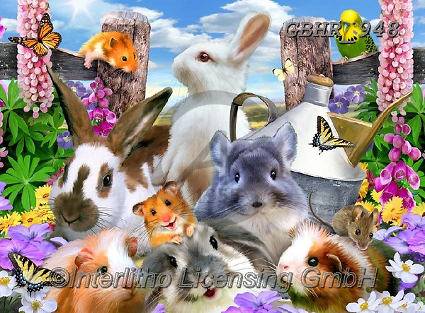 Howard, REALISTIC ANIMALS, REALISTISCHE TIERE, ANIMALES REALISTICOS, paintings+++++,GBHR948,#a#, EVERYDAY ,selfies