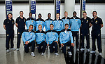 Manchester City arrive to the Hong Kong International Airport ahead the HKFC Citibank Soccer Sevens 2014 on May 21, 2014 in Hong Kong, China. Photo by Aitor Alcalde / Power Sport Images