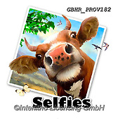 Howard, SELFIES, paintings+++++selfie cow,GBHRPROV182,#Selfies#, EVERYDAY