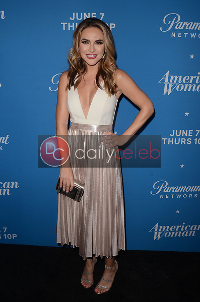 "Chrishell Stause<br /> at the ""American Woman"" Premiere Party, Chateau Marmont, Los Angeles, CA 05-31-18<br /> David Edwards/DailyCeleb.com 818-249-4998"