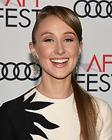 """16 November 2019 - Hollywood, California - Erin Doherty. AFI FEST 2019 Presented By Audi – """"The Crown"""" Premiere held at TCL Chinese Theatre. Photo Credit: Billy Bennight/AdMedia"""