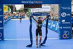 Ryan Sissons of New Zealand during the 2017 Madrid ITU Triathlon World Cup in Madrid, May 28, 2017. Spain.. (ALTERPHOTOS/Rodrigo Jimenez)