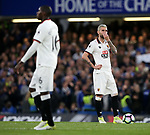 Watford's Valon Behrami looks on dejected after going 1-0 down during the Premier League match at Stamford Bridge Stadium, London. Picture date: May 15th, 2017. Pic credit should read: David Klein/Sportimage