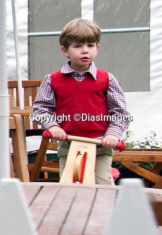 """JAMES MOUNTBATTEN-WINDSOR (son of Prince Edward and Sophie Wessex).enjoys a family day out at the Royal Windsor Horse Show_14/05/2011.Mandatory Photo Credit: ©DIasImages..**ALL FEES PAYABLE TO: """"NEWSPIX INTERNATIONAL""""**..PHOTO CREDIT MANDATORY!!: ©DiasImages/NEWSPIX INTERNATIONAL(Failure to credit will incur a surcharge of 100% of reproduction fees)..IMMEDIATE CONFIRMATION OF USAGE REQUIRED:.Newspix International, 31 Chinnery Hill, Bishop's Stortford, ENGLAND CM23 3PS.Tel:+441279 324672  ; Fax: +441279656877.Mobile:  0777568 1153.e-mail: info@newspixinternational.co.uk"""