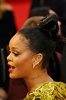 LONDON, ENGLAND - JUNE 13: Rihanna attending 'Ocean's 8' UK Premiere at Cineworld, Leicester Square on June 13, 2018 in London, England.<br /> CAP/MAR<br /> &copy;MAR/Capital Pictures /MediaPunch ***NORTH AND SOUTH AMERICAS ONLY***