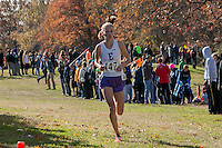 Hannah Long strides toward her third-straight Class 4 State title in 17:38 at the 2014 MSHSAA State Cross Country Championship in Jefferson City, MO. Saturday, November 8.