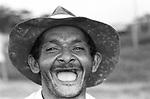 Trabalhador encontrado trabalhando como escravo  na  fazenda Estrela das Alagoas no..estado do Par