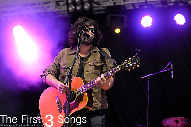 Pete Yorn performs during Day 1 of the Orlando Calling music festival at Citrus Bowl Park in Orlando, Florida on November 12, 2011.