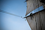 Tres Hombres, Sailing Ship, Ambassador of the new fleet of sustainable hybrid sailing vessels