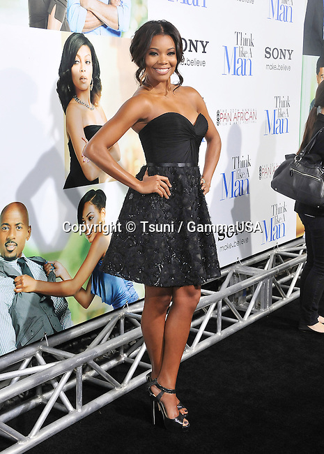 Gabrielle Union  Think Like a Man Premiere at the arclight Theatre In Los Angeles.