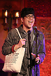 "George Salazar from the cast of ""The Jonathan Larson Project"" during the press preview on October 3, 2018 at Feinstein's/54 Below in New York City."